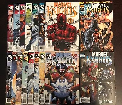 MARVEL KNIGHTS #1-15 Vol 1 FULL RUN LOT #1 is a VARIANT Daredevil, Punisher NM