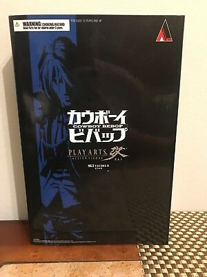 Square Enix Cowboy Bebop: Play Arts Kai Vicious Action Figure Never opened