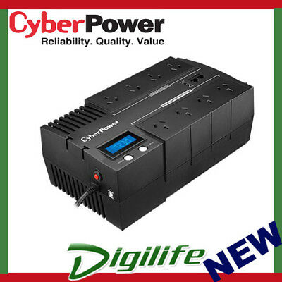 CyberPower BR700ELCD BRIC LCD 700VA / 390W Simulated Sine Wave UPS BR700ELCD