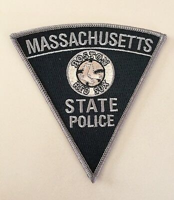 Massachusetts State Police Boston Red Sox Subdued Patch Ma Mass