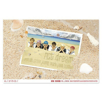 NCT Dream Official POSTER Only 1st Mini Album WE YOUNG Unfolded in Tube Case