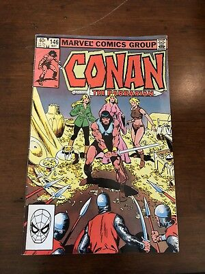 Conan The Barbarian Comic #146 Marvel Comics 1983, Clean,pages look untouched
