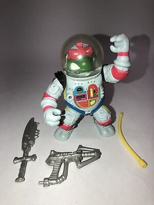 Vintage Raphael Space Cadet Teenage Mutant Ninja Turtles TMNT 1990 100% Complete