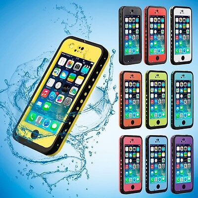 Waterproof Dirtproof Shockproof Case For Apple Iphone Se 5C 5 5S