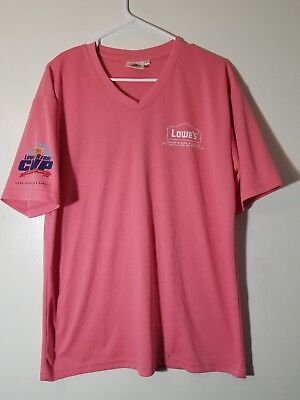 LOWE'S STORE CUP CHAMPIONSHIP Loss Prevention & Safety - LARGE V Neck  T-SHIRT
