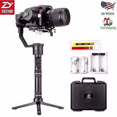 2018 Zhiyun Crane Plus 360° 3-Axis Handheld Gimbal Stabilizer for DSLR Camera US