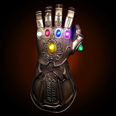 2019 Avengers Thanos Glove Infinity Gauntlet Legends Replica LED Gauntlet Prop