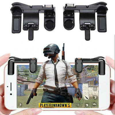 2x L1R1 Shooter Controller Mobile Phone Gaming Fire Button Trigger Handle PUBG