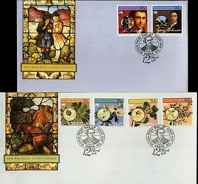 Australia 1986 First Day Cover FDC - New Holland - Cook's Voyage