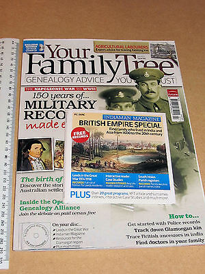Your Family Tree Magazine July 2011 Includes Free Cd British Empire Special