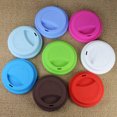 Silicone Anti-Dust Cup Lid Cover Leakproof Insulation  Coffee Sealing Lid Cap