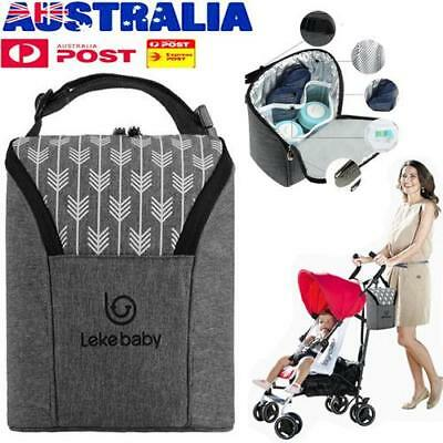 Baby Feeding Holder Travel Portable Water Milk Bottle Thermal Insulation Bag AU!