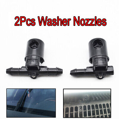 2Pcs Wiper Washer Nozzle Jet Fit For Opel Astra J Zafira A Astra G J Corsa C