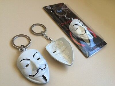 Porte Clé Key Chain V for Vendetta Guy Fawkes Anonymous