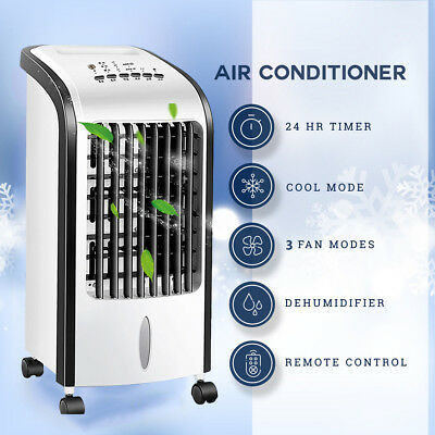 Portable Mobile Air Conditioner Cooler Fan Humidifier Air Conditioning Units