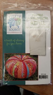 "Tuffet Source - Fusible Foundation Interfacing Refill - Round - 18"" Tuffet"
