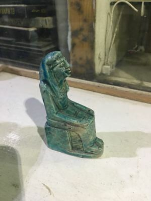 Rare Ancient Egyptian Antique STATUE period (600-1000 BC)👌