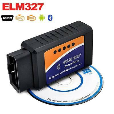 KFZ OBD2 ELM327 Auto Diagnosegerät Bluetooth Android IOS PC ADAPTER OBD SCANNER