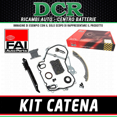 Kit catena distribuzione FAI AutoParts TCK182 AUDI