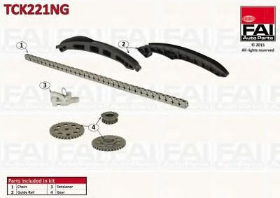 Kit catena distribuzione FAI AutoParts TCK221NG VW