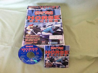 Racing Form Horse racing PC Computer Software Rare