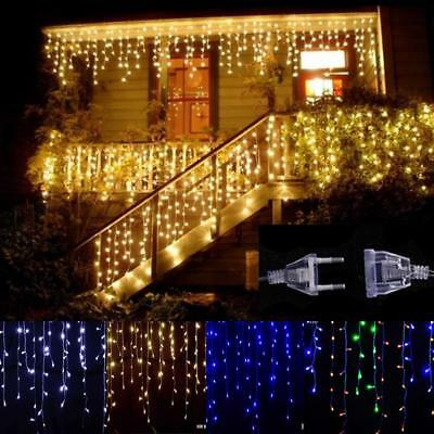 Curtain Lights Christmas Outdoor Decoration 5m 0.4-0.6m Led String Garden Party