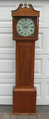 Small Sized Eight Day Longcase Clock by William Curtis of Exeter