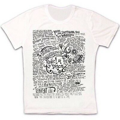 Panic At The Disco Band Music Retro Vintage Hipster Unisex T Shirt 1072