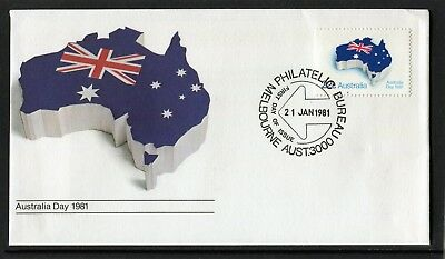 1981 Australia Day 22c Stamp First Day Cover, Mint Condition