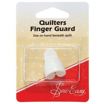 SEW EASY FINGER GUARD - QUILTER's- Ergonomic design SEWING,CRAFTING BNEW