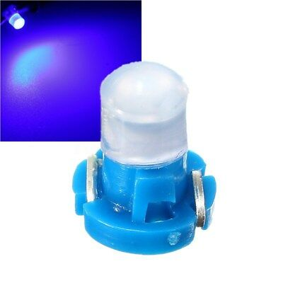 10x T3 Neo Wedge LED Cluster Instrument Panel Reading Lamp Light 12V Blue Bulb