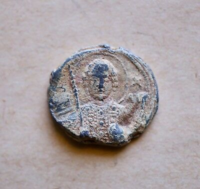 BYZANTINE LEAD SEAL/ BLEISIEGEL OF GORDIUS ANTHYPATUS AND GOVERNOR (ca 11th c.)