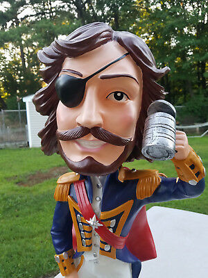 3ft Tall Bobblehead Admiral Nelson Rum LARGEST BOBBLEHEAD