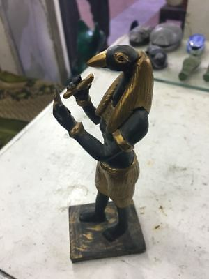 Rare Ancient Antique Egyptian Writer STATUE period 1900-1100 BC 👌
