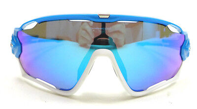 9ff1e0e95b0 OAKLEY SUNGLASSES JAWBREAKER Sky w  Sapphire Iridium Authorized Dealer NEW