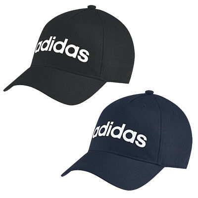 Adidas Mens Daily Sports Peak Cap Baseball Hat Adjustable Running Cotton