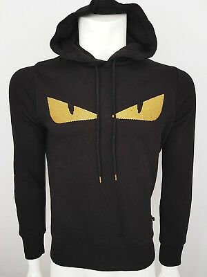 New Fendi Sweater Hoodie White Tags Warm Cotton Top Tee Now 3D Eye