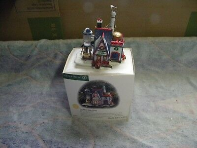 "DEPT 56 1998 98781 ""Real Plastic Snow Factory"" With Pigtail Ligh"