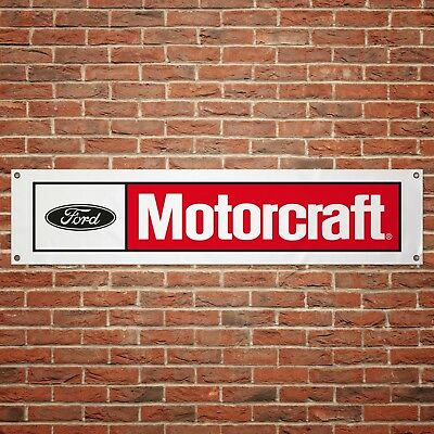 Ford Motorcraft Banner Garage Workshop PVC Sign Trackside Display