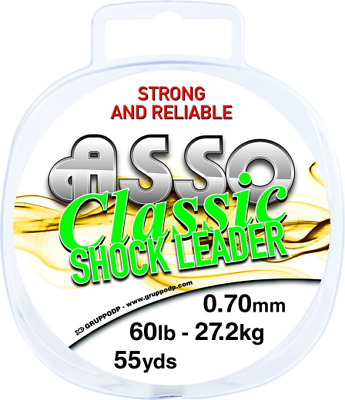 Asso Classic Shockleader - Clear or Yellow - All Sizes