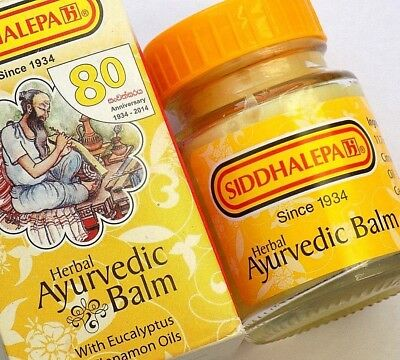 Siddhalepa Herbal Ayurvedic Balm for Aches and Pains 5g 25g 50g tub uk Seller