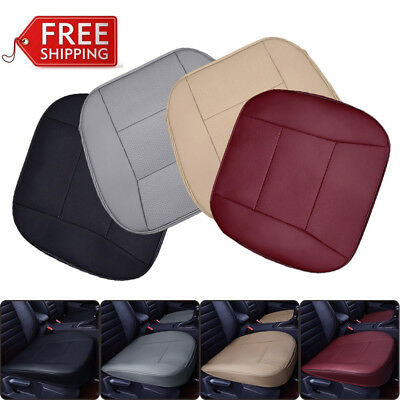 Universal PU Leather Deluxe Car Seat Cover Mat Protector Cushion Front Cover