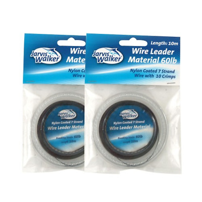 Jarvis Walker Trace Wire with Crimps - All Sizes
