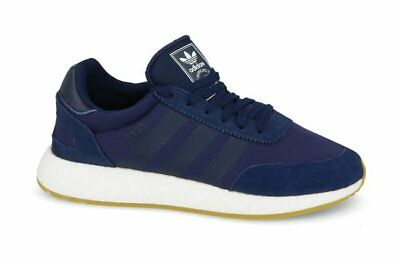 015cf3ed45d New Men s Adidas Originals Iniki I-5923 Runner Boost Navy gum (D97347)