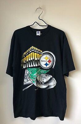 Vintage 90s Pittsburgh Steelers Starter T Shirt Tee Mens Size L Logo 7 NEW f4073ee77