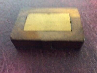 antique secret book snuff box