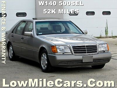 1993 Mercedes-Benz S-Class 500 SEL 1 Owner Low Miles 1993 MERCEDES BENZ 500SEL W140 beautiful color combination 52k