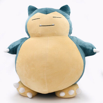 "NEW Jumbo SNORLAX Pokemon Center Plush Toy Stuffed Doll Pillow Gift 12""/30cm"