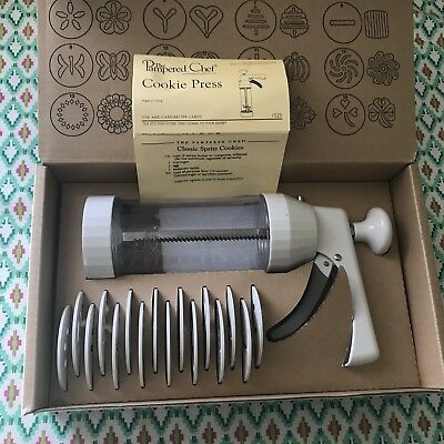 The Pampered Chef Cookie Press 1525