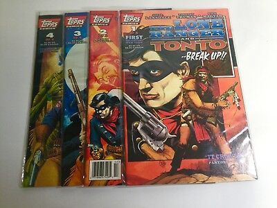 1994 Topps Comics The Lone Ranger and Tonto Complete Set of 4